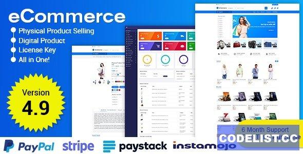 eCommerce v4.9 - Responsive Ecommerce Business Management System