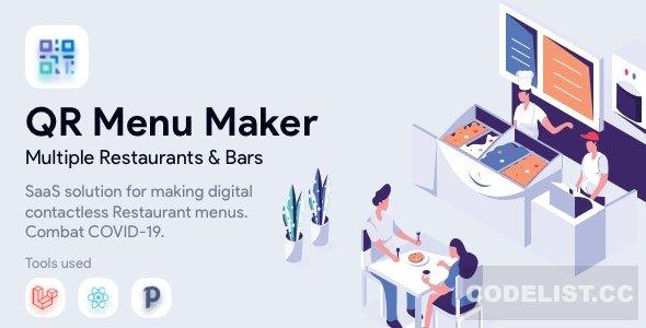 QR Menu Maker v1.9.7 - SaaS - Contactless restaurant menus