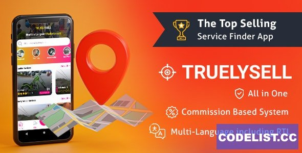 TruelySell v1.1.0 - On-demand Service Marketplace, Nearby Service Finder and Bookings Web, Android and iOS